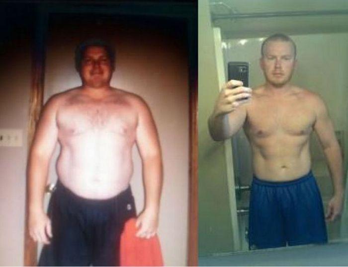 Antes e depois de incríveis transformações físicas 2 23