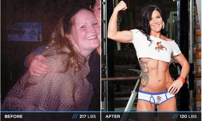 Antes e depois de incríveis transformações físicas 3 04