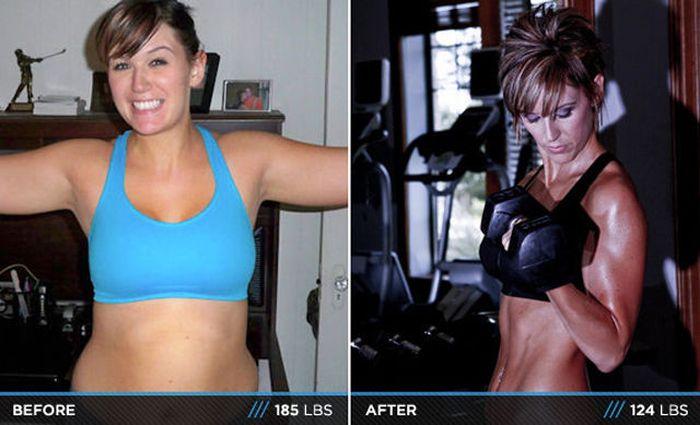 Antes e depois de incríveis transformações físicas 3 05