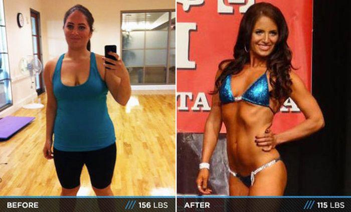 Antes e depois de incríveis transformações físicas 3 06