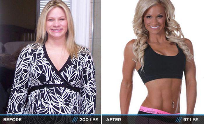 Antes e depois de incríveis transformações físicas 3 07