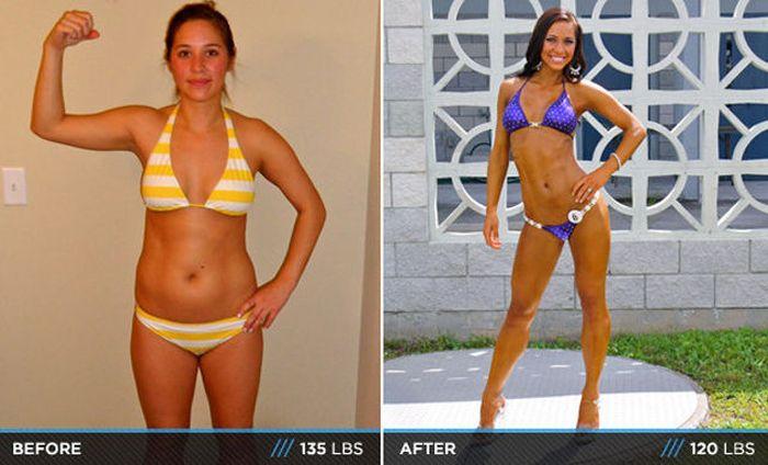 Antes e depois de incríveis transformações físicas 3 08