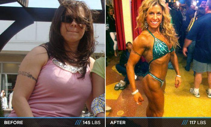 Antes e depois de incríveis transformações físicas 3 09
