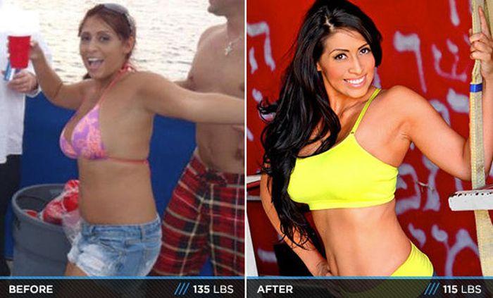 Antes e depois de incríveis transformações físicas 3 10