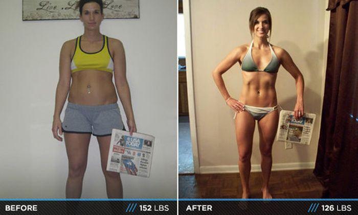 Antes e depois de incríveis transformações físicas 3 11