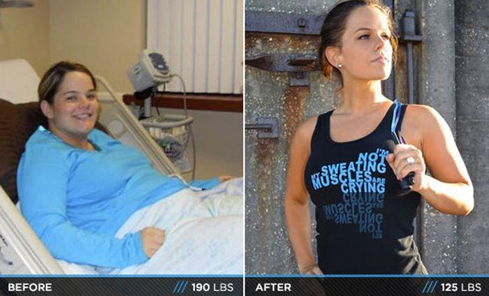 Antes e depois de incríveis transformações físicas 3 12