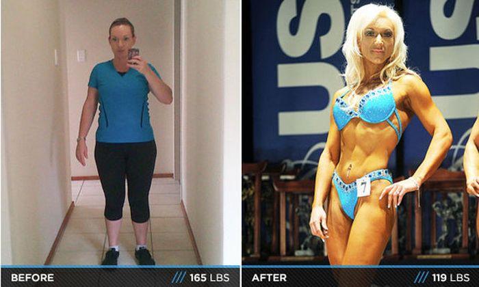 Antes e depois de incríveis transformações físicas 3 13
