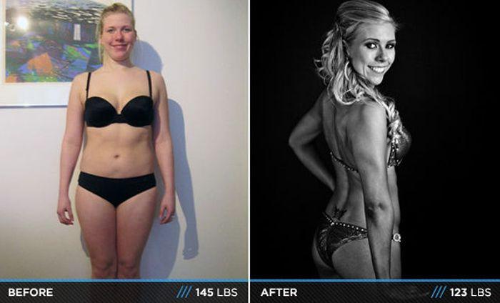 Antes e depois de incríveis transformações físicas 3 16