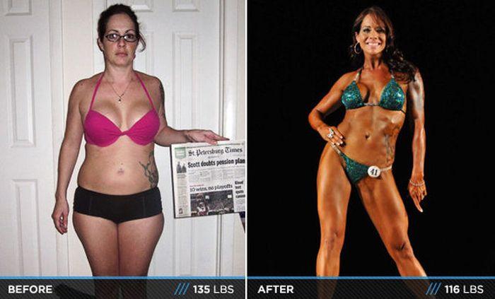 Antes e depois de incríveis transformações físicas 3 17