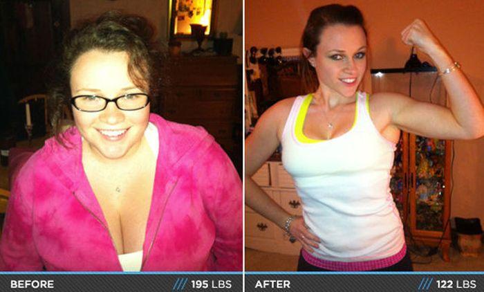 Antes e depois de incríveis transformações físicas 3 19