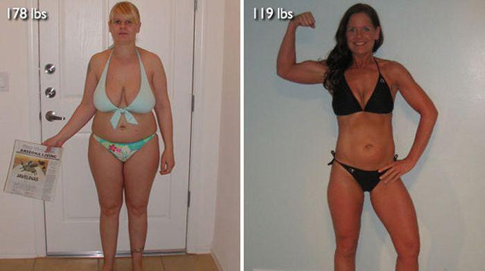 Antes e depois de incríveis transformações físicas 3 20