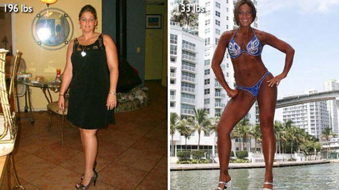 Antes e depois de incríveis transformações físicas 3 21