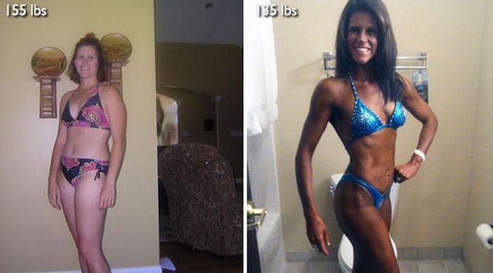 Antes e depois de incríveis transformações físicas 3 22