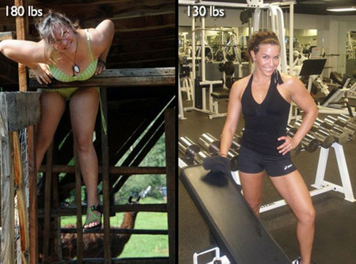Antes e depois de incríveis transformações físicas 3 24