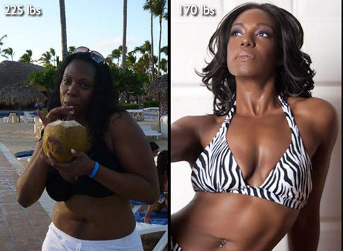 Antes e depois de incríveis transformações físicas 3 25