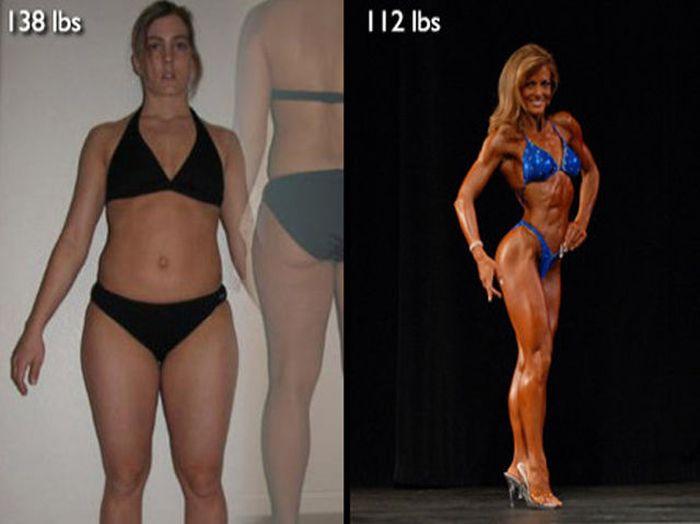 Antes e depois de incríveis transformações físicas 3 26