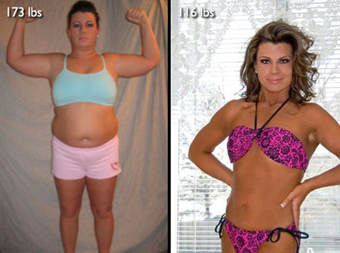 Antes e depois de incríveis transformações físicas 3 27