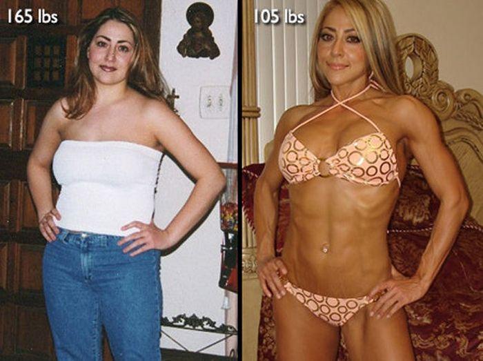 Antes e depois de incríveis transformações físicas 3 30