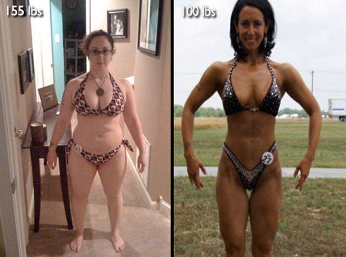 Antes e depois de incríveis transformações físicas 3 31