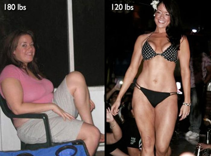 Antes e depois de incríveis transformações físicas 3 32