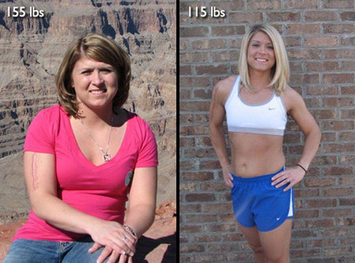 Antes e depois de incríveis transformações físicas 3 33