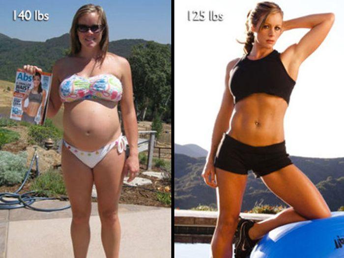 Antes e depois de incríveis transformações físicas 3 36