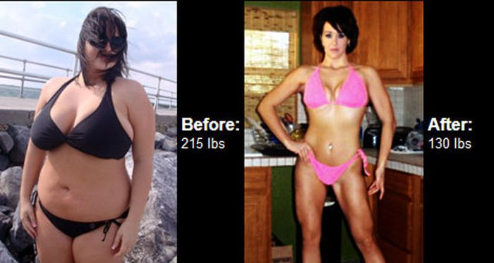 Antes e depois de incríveis transformações físicas 3 37