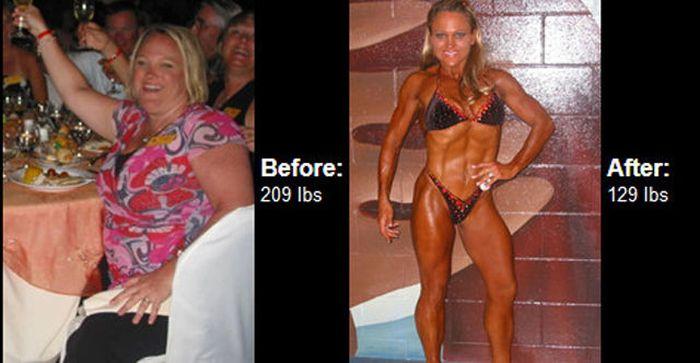 Antes e depois de incríveis transformações físicas 3 38