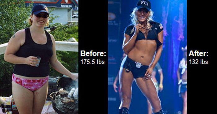 Antes e depois de incríveis transformações físicas 3 39
