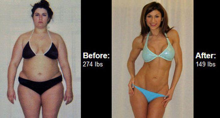 Antes e depois de incríveis transformações físicas 3 40