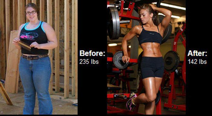 Antes e depois de incríveis transformações físicas 3 41