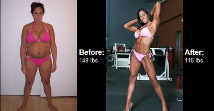 Antes e depois de incríveis transformações físicas 3 42