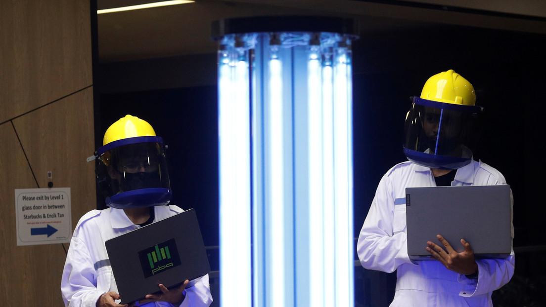 Asseguram que a luz ultravioleta pode destruir o coronavírus em 99% em apenas 6 segundos