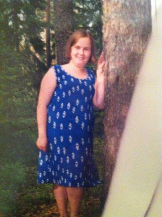 A perda de peso surpreendente de uma garota russa 03