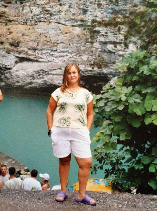 A perda de peso surpreendente de uma garota russa 07