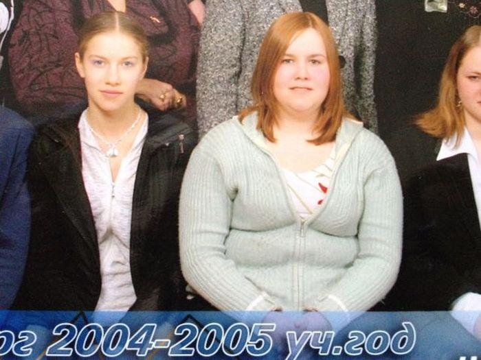 A perda de peso surpreendente de uma garota russa 08