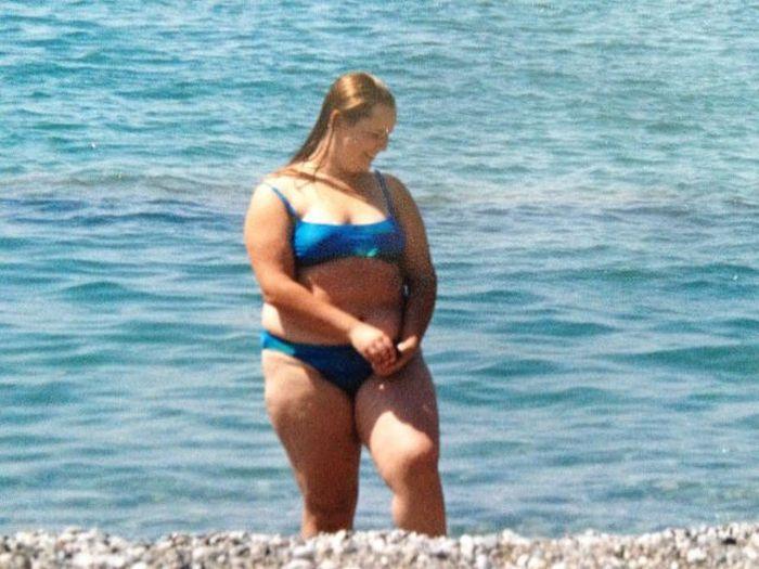 A perda de peso surpreendente de uma garota russa 10