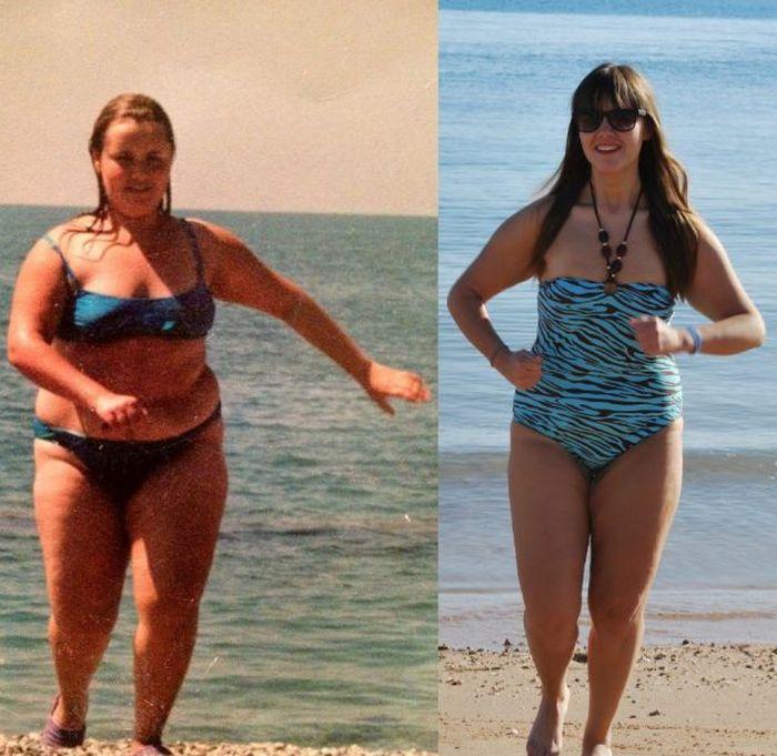 A perda de peso surpreendente de uma garota russa 11