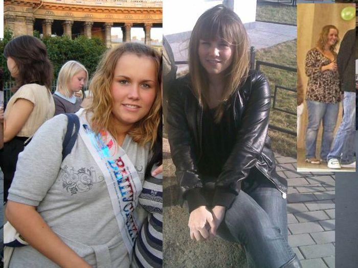 A perda de peso surpreendente de uma garota russa 15