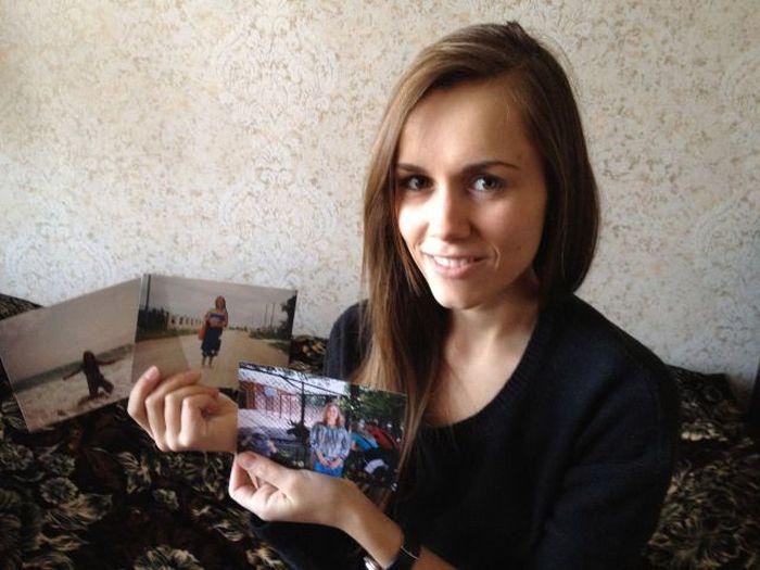 A perda de peso surpreendente de uma garota russa 17