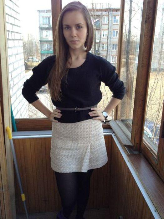 A perda de peso surpreendente de uma garota russa 21
