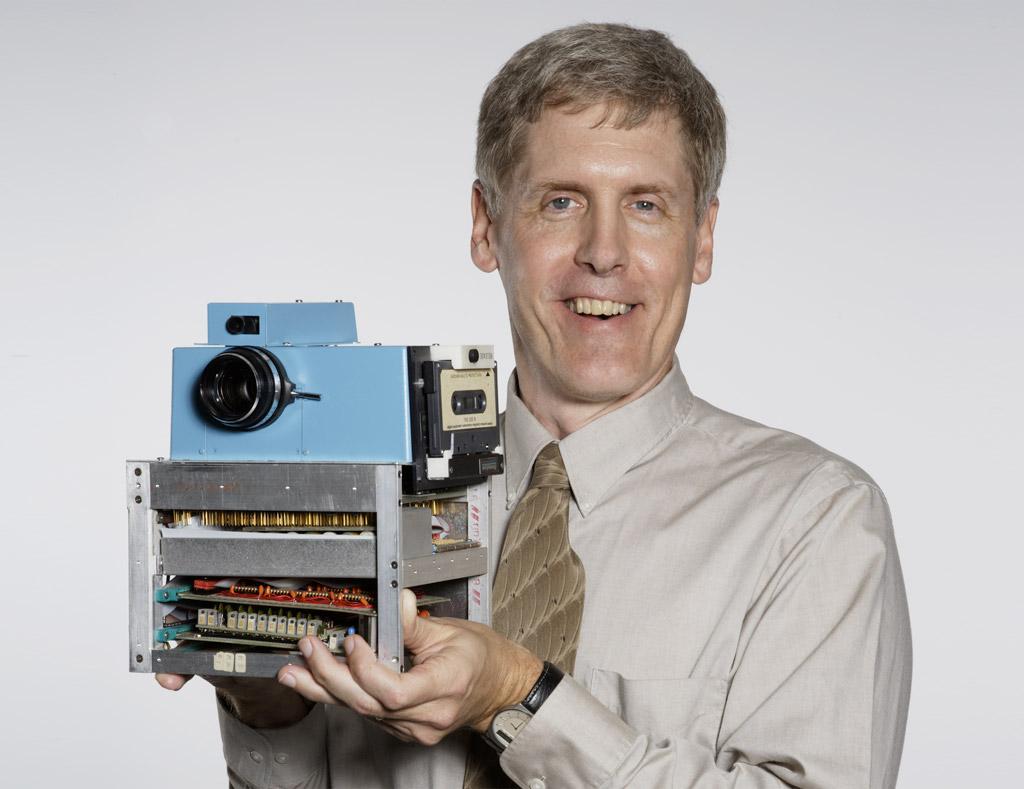 A primeira câmera digital.