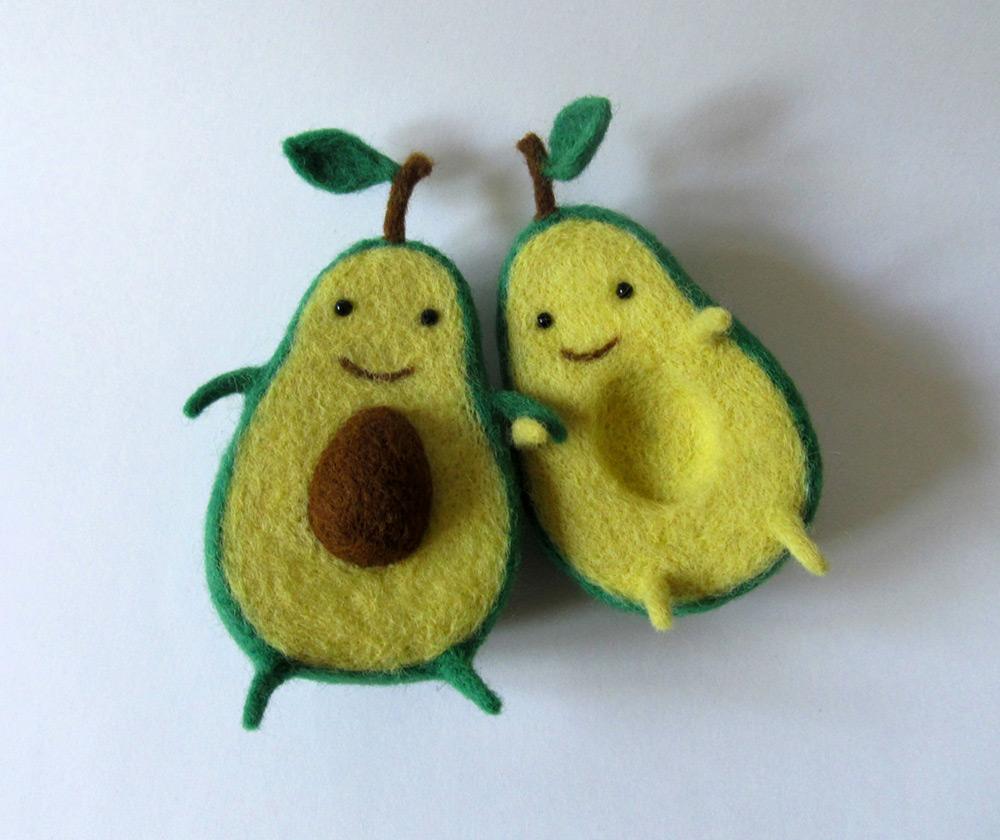 Abacatinhos.