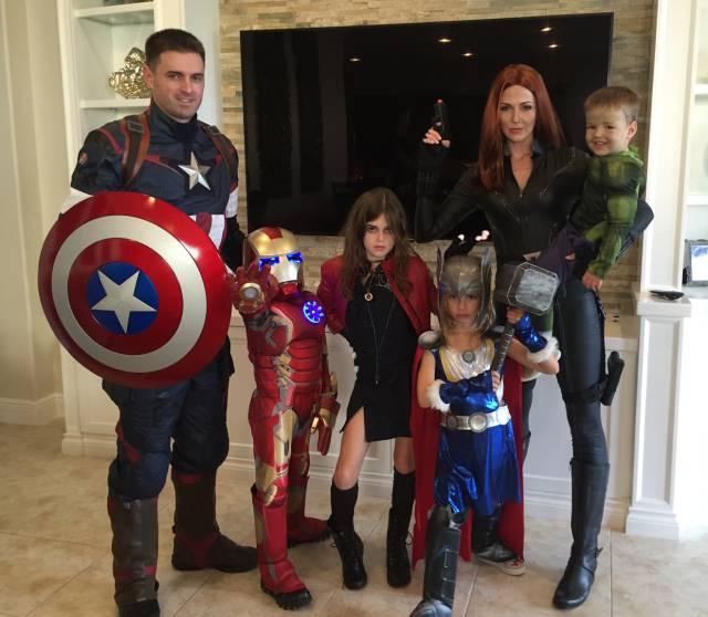 Os Vingadores.