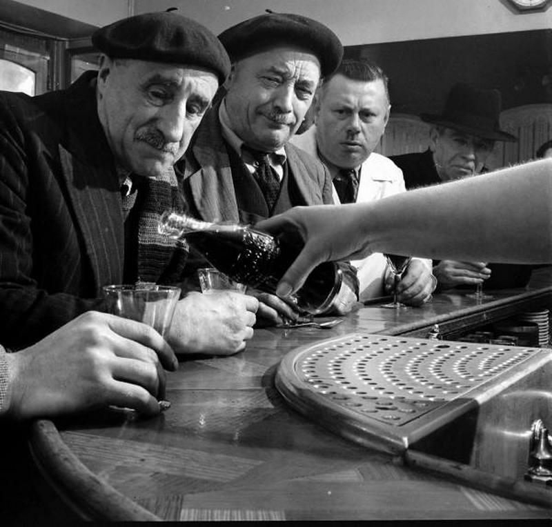 Quando a Coca-Cola chegou a França, 1950.