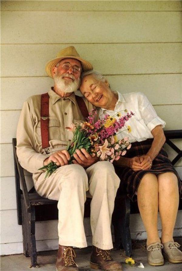 O amor não tem idade.