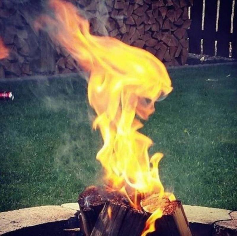 Beleza ardente.