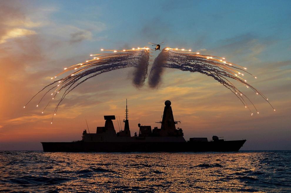 Celebração da Frota Real da Grã-Bretanha. Por Dave Jankins.