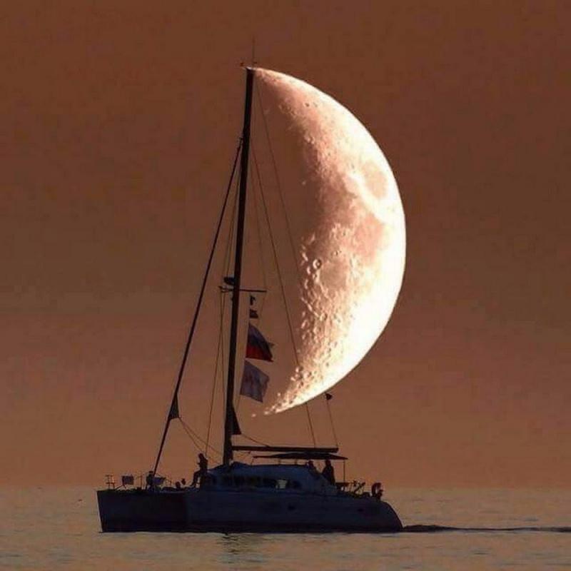 Veleiro de Lua.