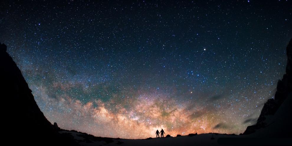 Caçadores de estrelas. Por Anton Yakovoy.